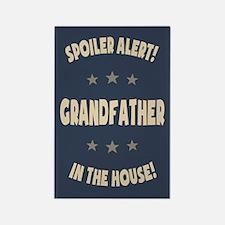 Spoiler Alert Grandfather Rectangle Magnet