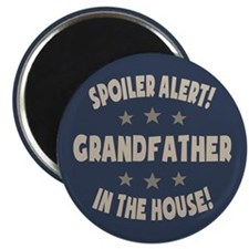 Spoiler Alert Grandfather Magnet
