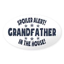 Spoiler Alert Grandfather Decal