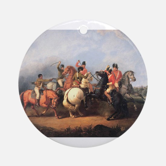 cowpens Ornament (Round)