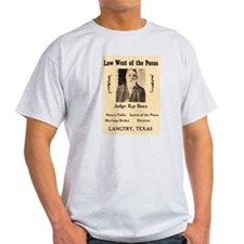 Judge Roy Bean T-Shirt