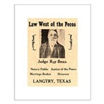Judge Roy Bean Small Poster