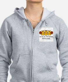 One by One The Squirrels Zip Hoodie