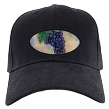Red Wine Grapes Baseball Hat