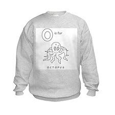 O is Octopus Sweatshirt