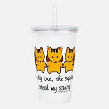 One by One The Squirre Acrylic Double-wall Tumbler