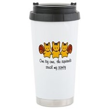 One by One The Squirrel Travel Mug