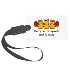 One by One The Squirrels Luggage Tag