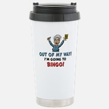 Bingo!! Stainless Steel Travel Mug