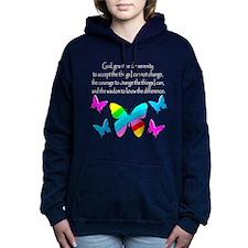 GOD IS SERENITY Women's Hooded Sweatshirt