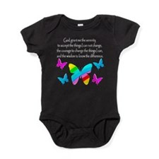 GOD IS SERENITY Baby Bodysuit
