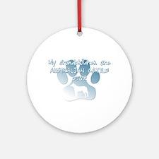 Aus Cattle Dog Grandchildren Ornament (Round)