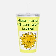 hedge fund Acrylic Double-wall Tumbler