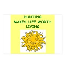 hunting Postcards (Package of 8)