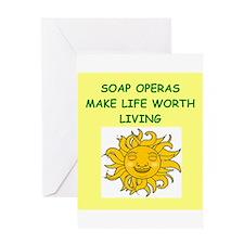 soap opera Greeting Card