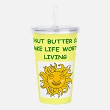peanut,butter,cups Acrylic Double-wall Tumbler