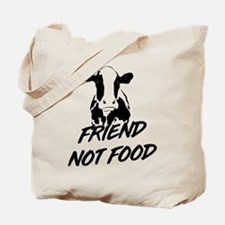 Cow friend not food Tote Bag