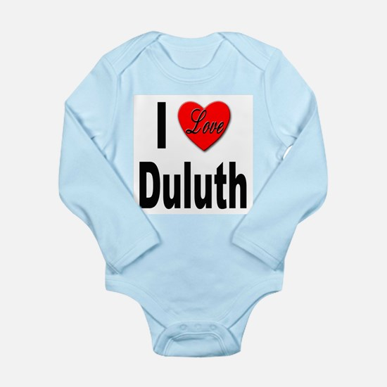 I Love Duluth Infant Bodysuit Body Suit