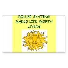 rollerskating Decal