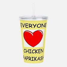 chicken Acrylic Double-wall Tumbler