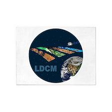 LDCM 7 Logo 5'x7'Area Rug