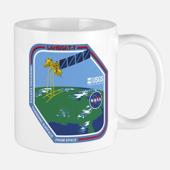 Landsat 7 Program Logo Mug Mugs