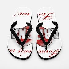 Somebody In Arizona Loves Me Flip Flops