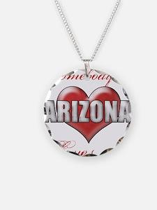 Somebody In Arizona Loves Me Necklace