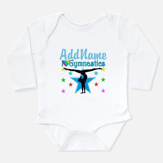 GYMNAST POWER Long Sleeve Infant Bodysuit