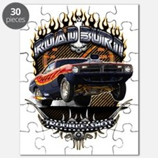 Muscle Car - Barracuda Road Burn Puzzle
