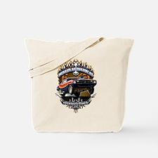 Muscle Car - Barracuda Road Burn Tote Bag