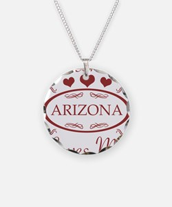 Somebody In Arizona Loves Me Necklace