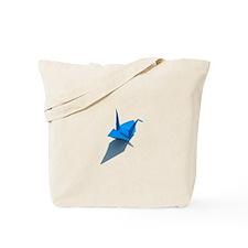 OrigamiBlueCrane camara Tote Bag