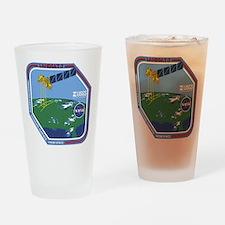Landsat 7 Program Logo Drinking Glass