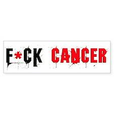 Bumper Sticker F*CK CANCER