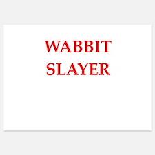 wabbit slayer Invitations