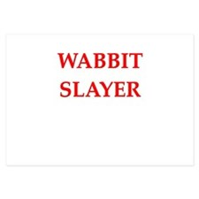 wabbit slayer Invitations
