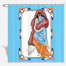 the kitsunes wedding Shower Curtain
