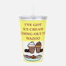 ice cream Acrylic Double-wall Tumbler