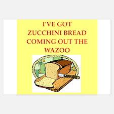 zucchini bread Invitations