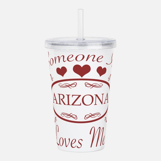 Somebody In Arizona Lo Acrylic Double-wall Tumbler