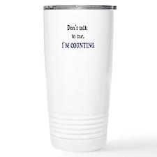 Funny Knitting tote Travel Mug
