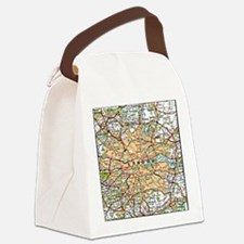 Funny England Canvas Lunch Bag
