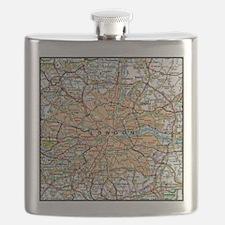 Unique England Flask