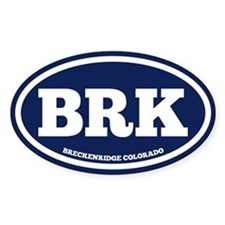 Breckenridge Chunky Decal