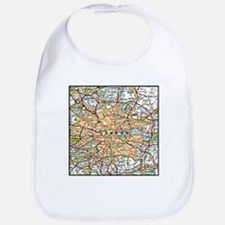 Map of London England Bib