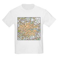 Map of London England T-Shirt
