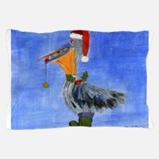 Christmas Pelican Pillow Case