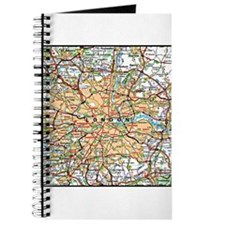 Map of London England Journal