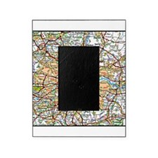 Map of London England Picture Frame